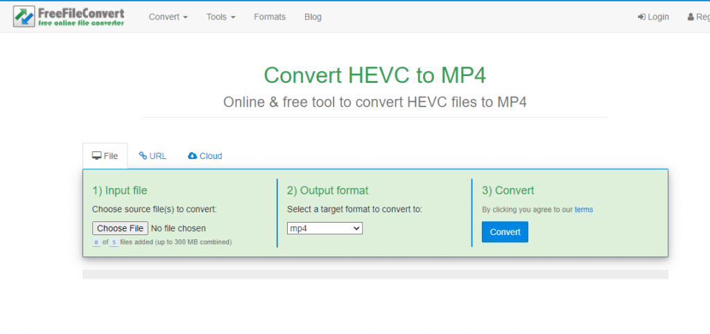 How to Convert HEVC to MP4
