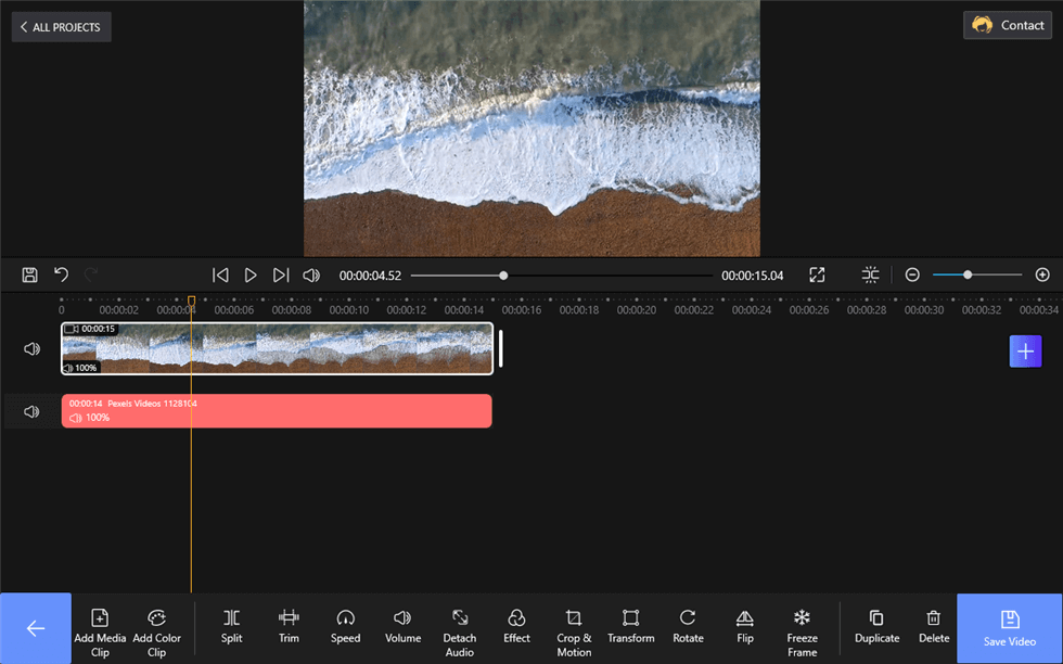 Detach Audio from Videos