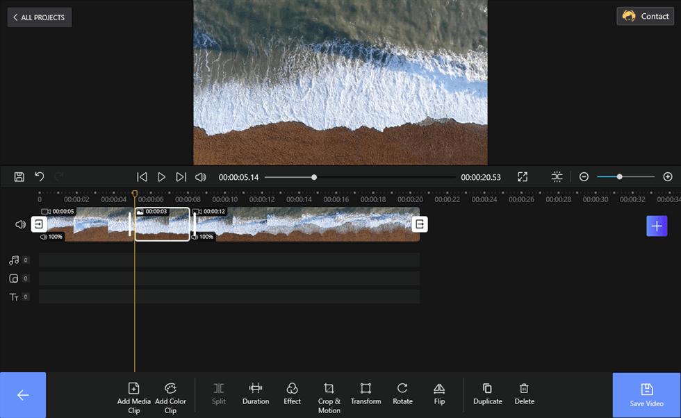 Set Freeze Frame of a Video