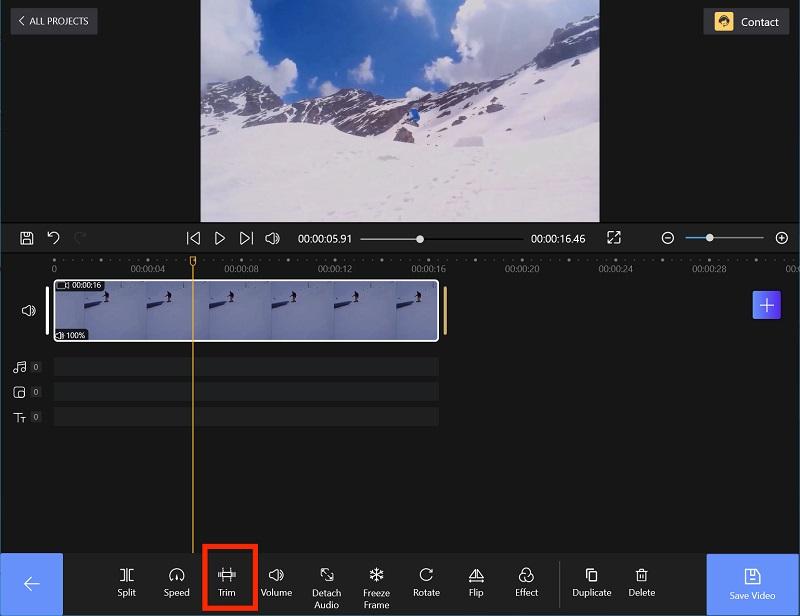 Edit Trim on FilmForth