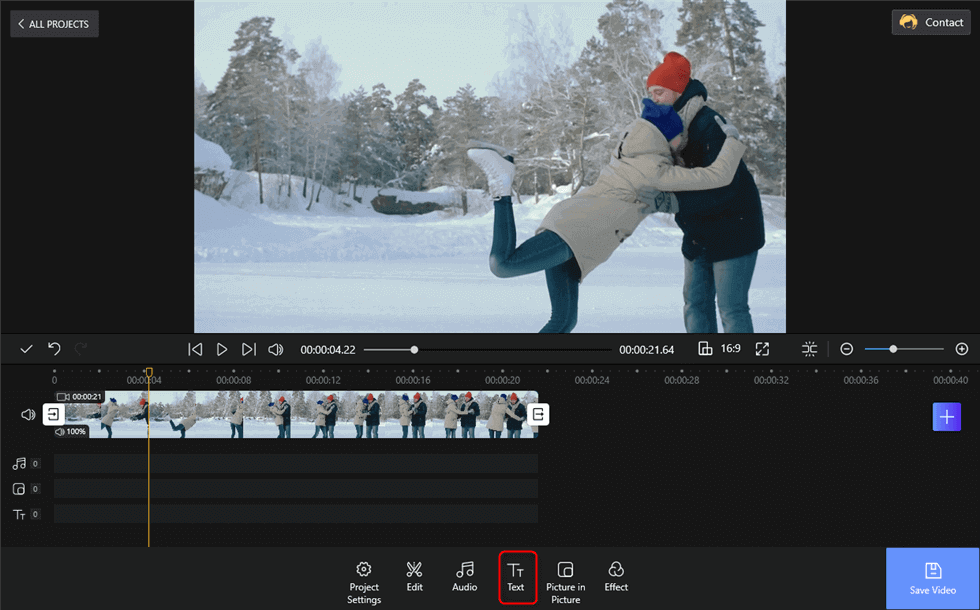 Add Text on Your Video