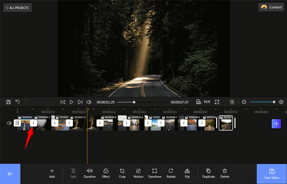 Add Transitions to the Slideshow for Free