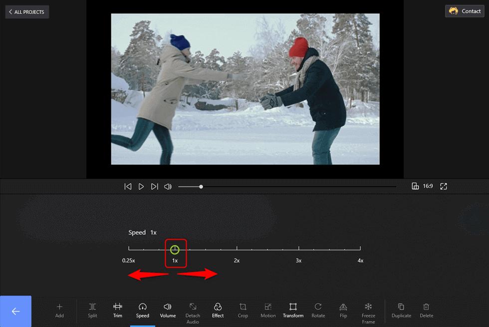 Adjust the Video Speed Now