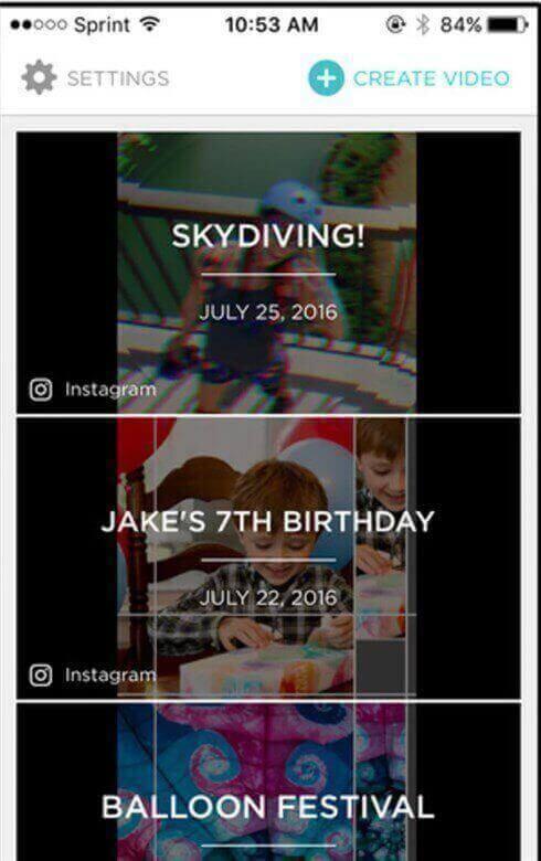 iOS Mobile Slideshow Maker