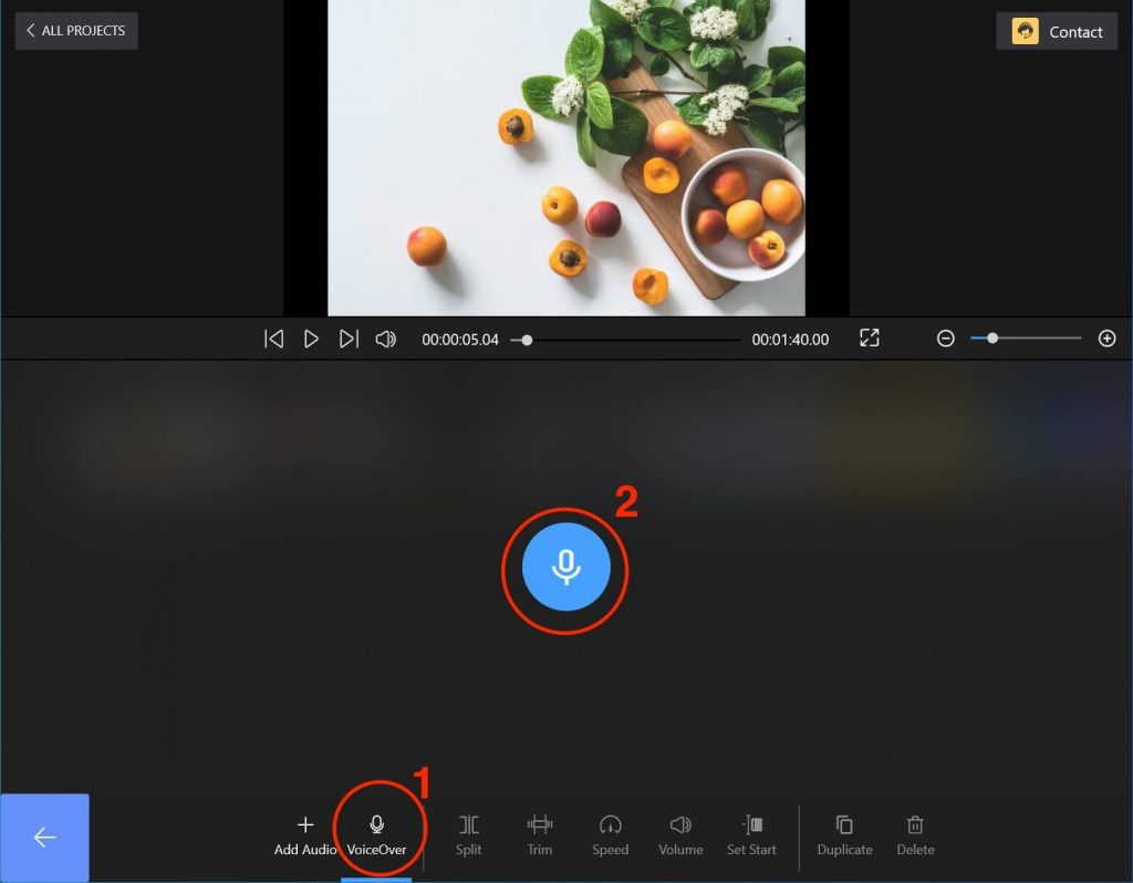Start to Audio Record via FilmForth on Windows 10