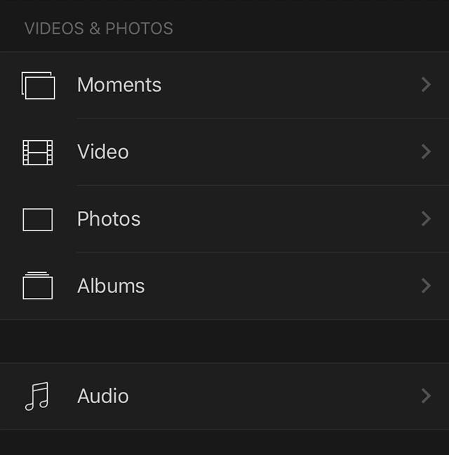 """Click the """"Audio"""" Button"""