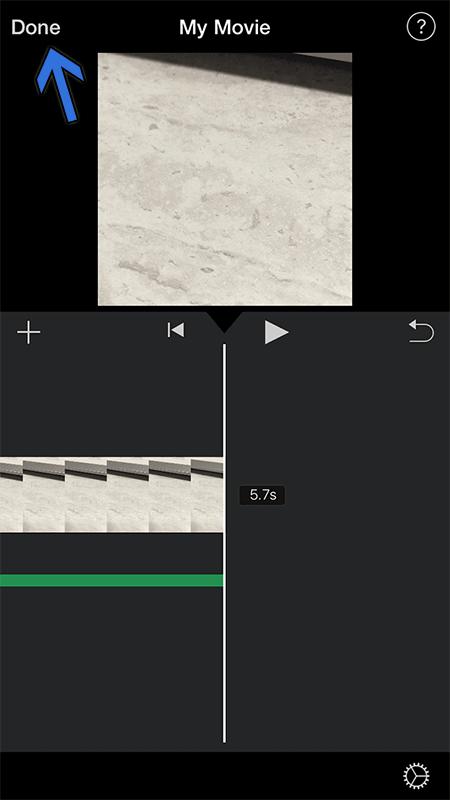 Adjust the Audio Track