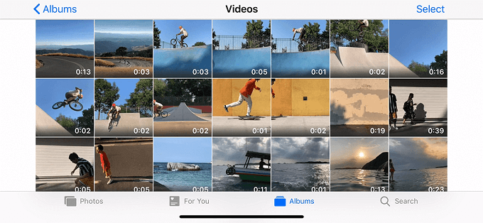 Head to Photos App