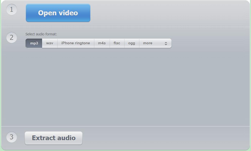 Audio Extractor Dot Net