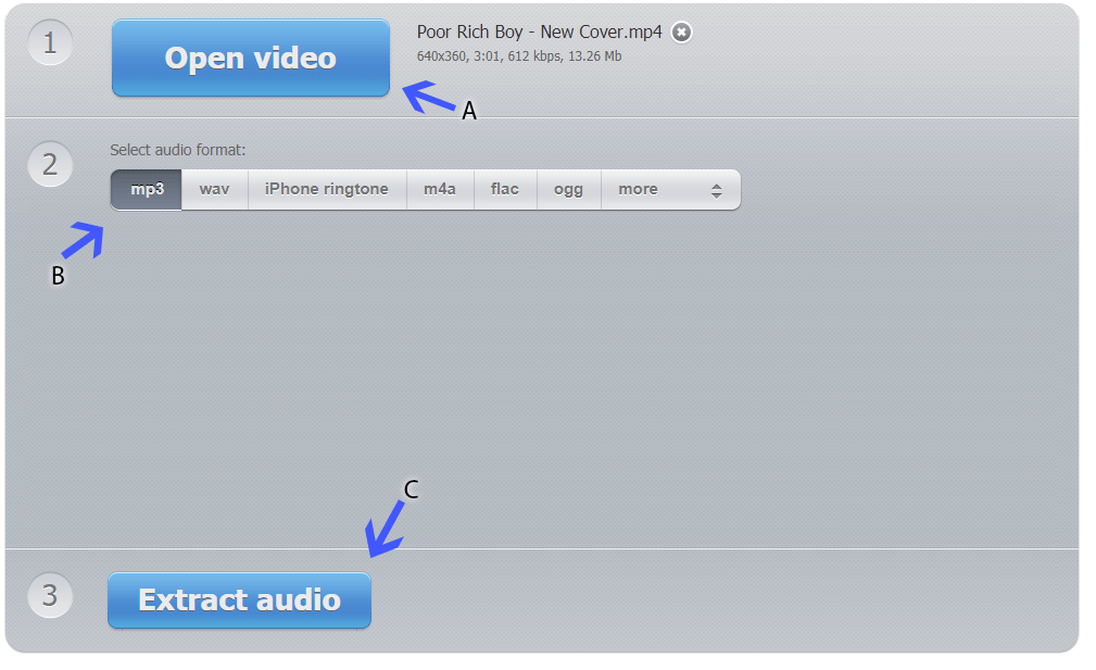 Converting Video to Audio