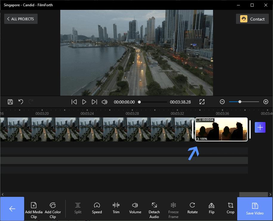 Add Video Clips