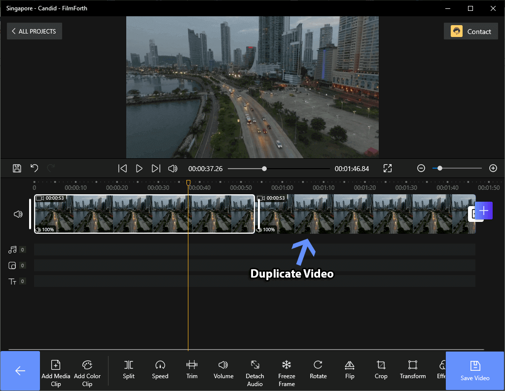 Loop Video to Lengthen the Video