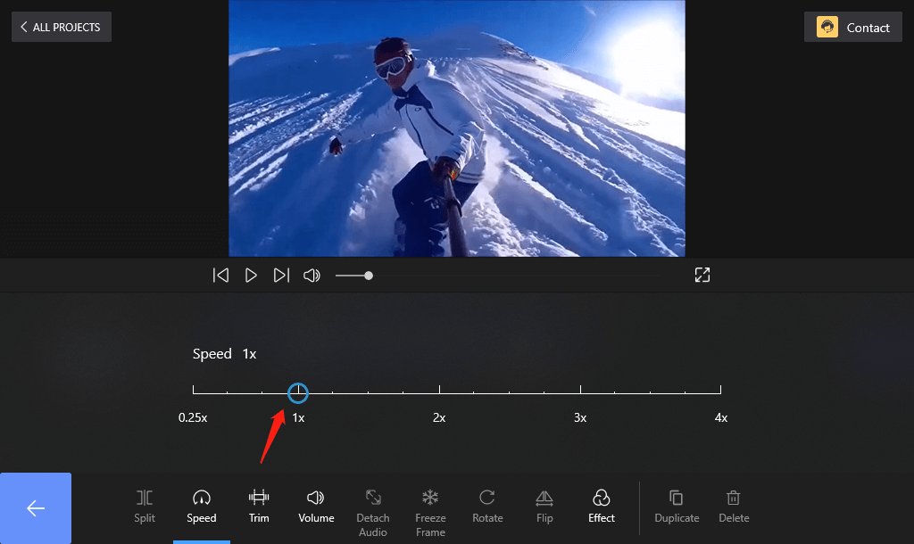 How to Speed up A Video on Windows 10 with FilmForth