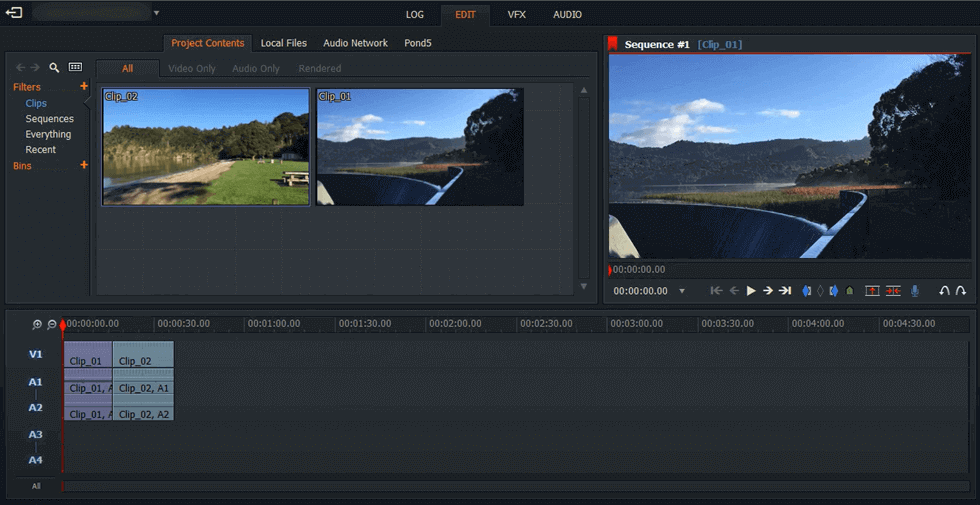 YouTube Video Editing on Lightworks