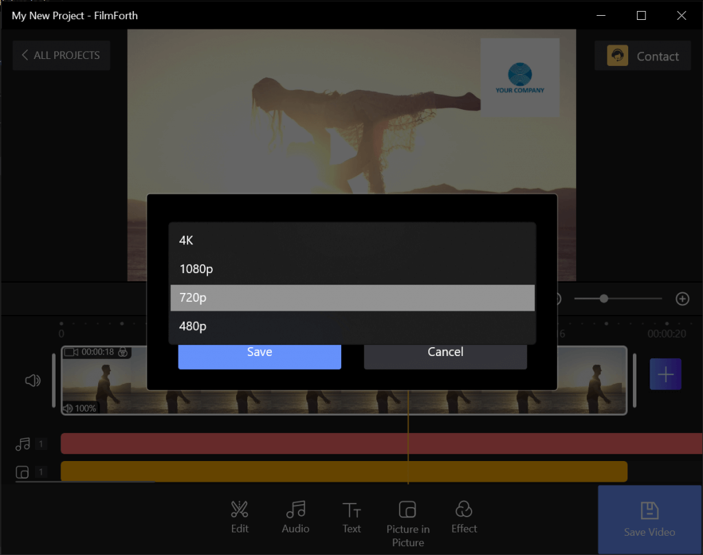 Saving the Video