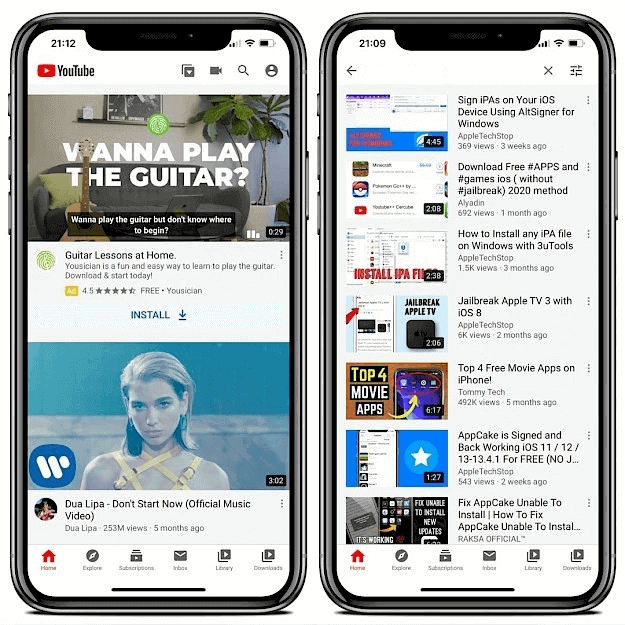 Convert YouTube to mp3 on iPhone