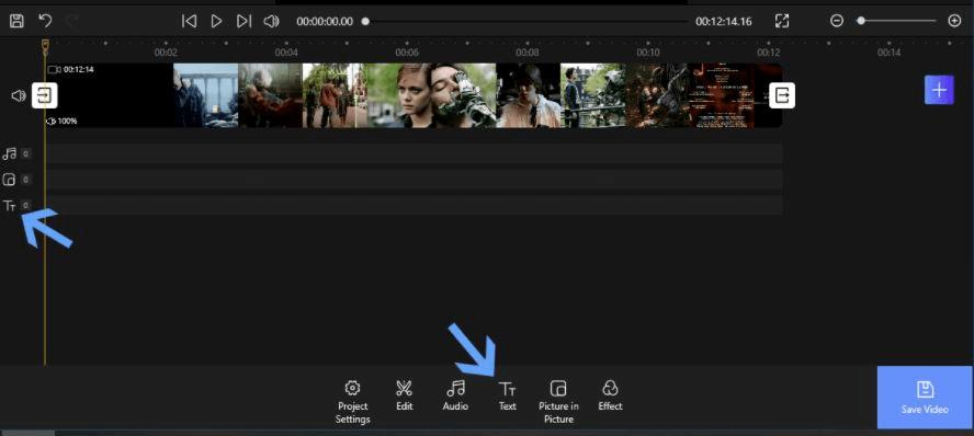 FilmForth - Adding Text