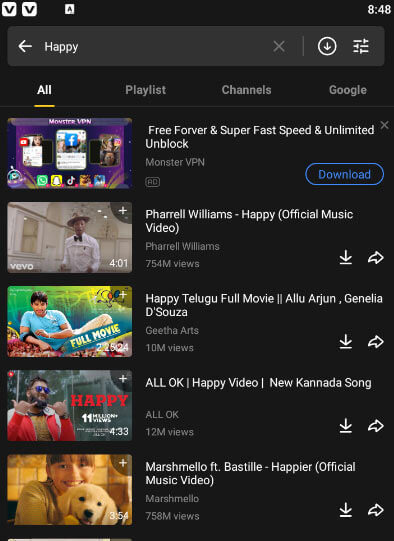 How to Download MP3 Via Snaptube for Android