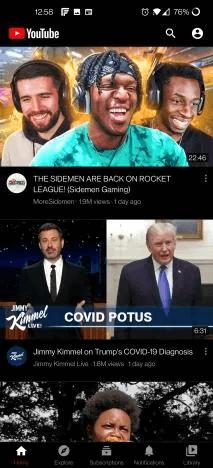 YouTube Vanced